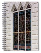 Art In Glass Spiral Notebook