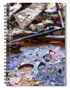 Art Studio Spiral Notebook
