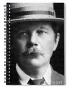 Arthur Conan Doyle, Scottish Author Spiral Notebook
