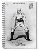 Arthur Irwin (1858-1921) Spiral Notebook