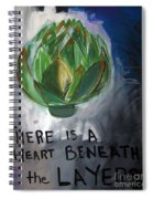 Artichoke Spiral Notebook