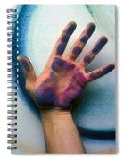 Artist Hand Spiral Notebook