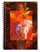 Artist World View Spiral Notebook