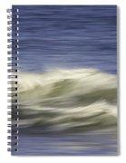 Artistic Wave Spiral Notebook