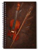 Artist's Violin Spiral Notebook