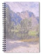 As If Monet Painted Yosemite Spiral Notebook