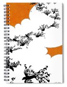 As The Crows Fly Spiral Notebook