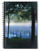 As The Lake Awakens Spiral Notebook