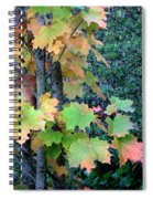 As The Leaves Turn Spiral Notebook