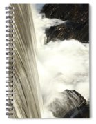 As The Water Falls Spiral Notebook