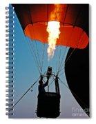 Ascension Flames Spiral Notebook