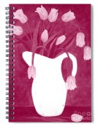 Ashes Of Roses Tulips Spiral Notebook