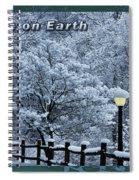 Asheville Peace Card Spiral Notebook