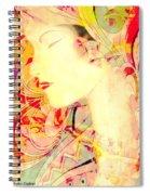 Asian Tropic Spiral Notebook