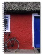 Askeaton, Co Limerick, Ireland, Bicycle Spiral Notebook