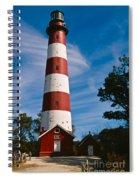 Assateague Lighthouse Spiral Notebook
