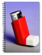 Asthma Inhaler Spiral Notebook