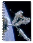 Astronauts Spiral Notebook