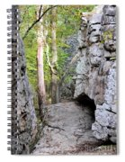 At A Cliff's Edge Spiral Notebook