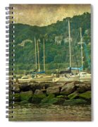 At Home In The Harbor - Atlantic Highlands  Nj Spiral Notebook