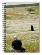 At Lachish's Magical Fields Spiral Notebook