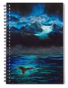 At Play Under The Glacier Spiral Notebook