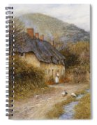 At Symondsbury Near Bridport Dorset Spiral Notebook