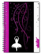 At The Ballet Triptych 2 Spiral Notebook