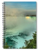 At The Base Of Horseshoe Spiral Notebook