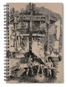 At The Blast Furnace Spiral Notebook