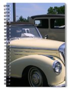 At The Car Show Spiral Notebook