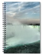 At The Edge Of Horseshoe Spiral Notebook