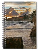 At The Edge Of The World Spiral Notebook