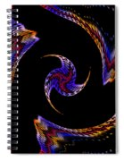 At The End Of The Universe Spiral Notebook