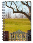 At The Levee Spiral Notebook