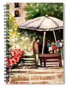 At The Market Spiral Notebook