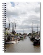 At The Old Harbor Spiral Notebook