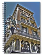 At The Plaza De La Boqueria ... Spiral Notebook