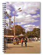 At The Prater - Vienna Spiral Notebook