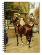 At The Red Inn Spiral Notebook