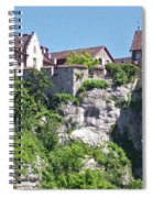 At The Rhine Falls Spiral Notebook