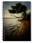 At The River Bend Spiral Notebook