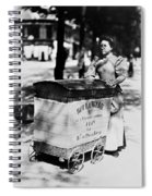 Atget: Delivering Bread Spiral Notebook