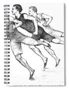 Athletics: Track, 1890 Spiral Notebook