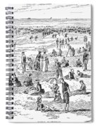 Atlantic City, 1890 Spiral Notebook