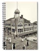 Atlantic City Steel Pier 1910 Spiral Notebook