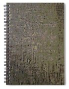 Atomic Grid Spiral Notebook