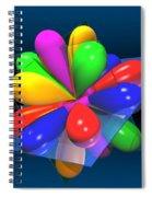 Atomic Orbitals Spiral Notebook