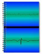 Atrial Flutter & Normal Heart Beat Spiral Notebook