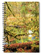 Attack Of The Moss Spiral Notebook